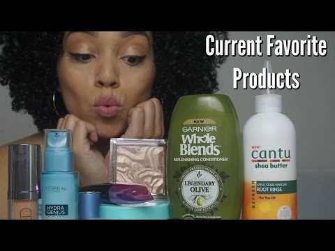 Current Favorite Products | Hair, Makeup, Skin Care | May 2017