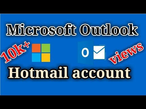 How to Create a Microsoft Outlook account Bangla Tutorial 2016 | Hotmail account bangla tutorial