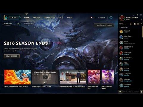 The new client (Season 7) (alpha) League of Legends