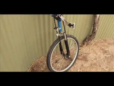 Unicycle made from a Bike