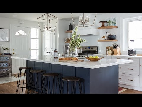 Interior Design — An Old House Gets A Total Overhaul!