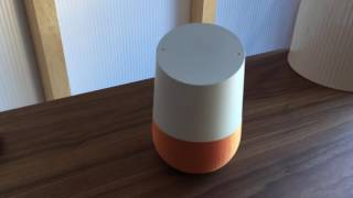 Google Home first hands-on