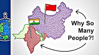 Why Do India And China Have So Many People?