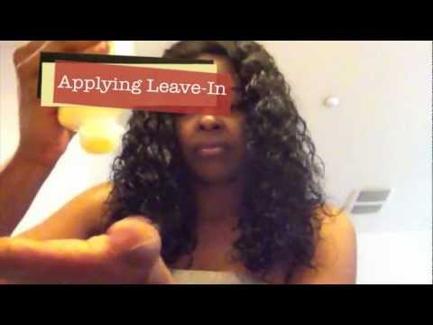 How To Detangle Virgin Curly Hair - and REVIVE CURLY WEAVES