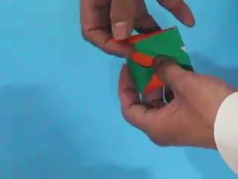 How to make an Origami Mosaic ddakji 2