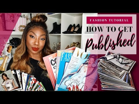 Fashion Stylist Tutorials   How To Get Published & How To Get Clients! @ericafmstyle