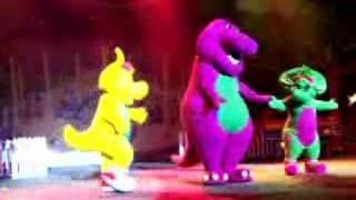 show do Barney e o Parque Musical - Amo Você