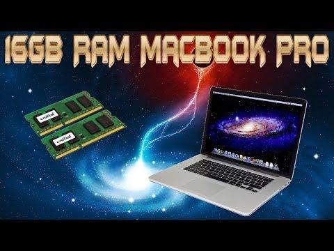 16GB RAM Upgrade Macbook Pro (Early 2011)-Tutorial
