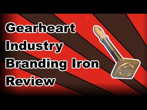 Gearheart Industry Branding Iron Review