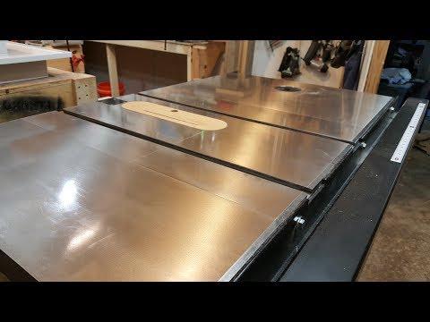Polyurethane your Table Saw