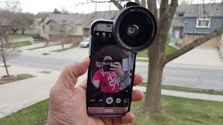 Ultra Wide angle lens MPow - Samsung Galaxy S7 Edge