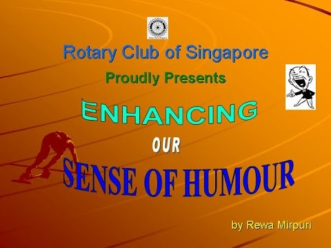 Enhancing our sense of humour  - Learn to enhance sense of humour