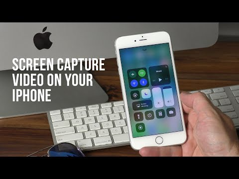 How to screen capture video on your iPhone - iOS 11
