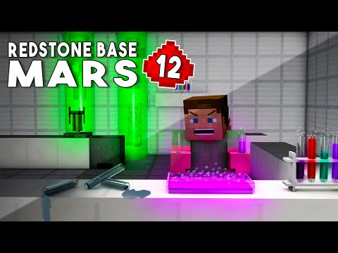 Let's Build: REDSTONE MARS BASE EP12 - Laboratory (Redstone House Tutorial)