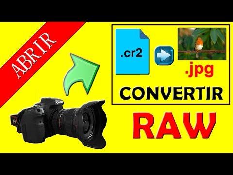 ✔ ¡Solución! 📷 - Transformar Fotos Cr2, Convertir CR2 a JPG (Convert Cr2 to Jpg)