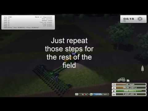 Farming simulator 2013 How to farm episode 4: How to seed a field