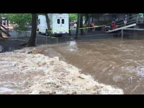 Knoebels Amusement Park Flash Flood, The Beginning!!!!