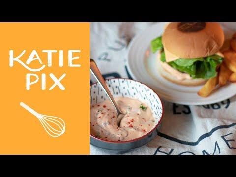 Big Mac-Inspired ULTIMATE Burger Sauce Recipe | Katie Pix