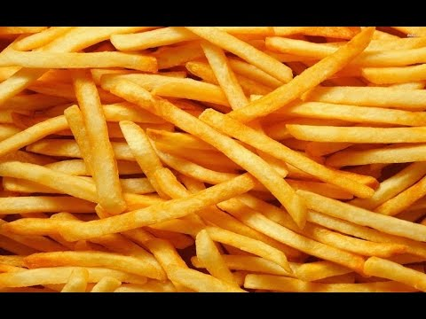 french fries at home in hindi
