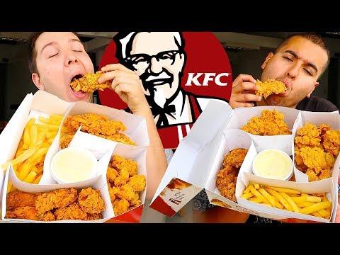 KFC Box Challenge • MUKBANG