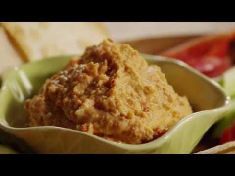 How to Make Red Pepper Hummus | Vegetarian Recipes | Allrecipes.com