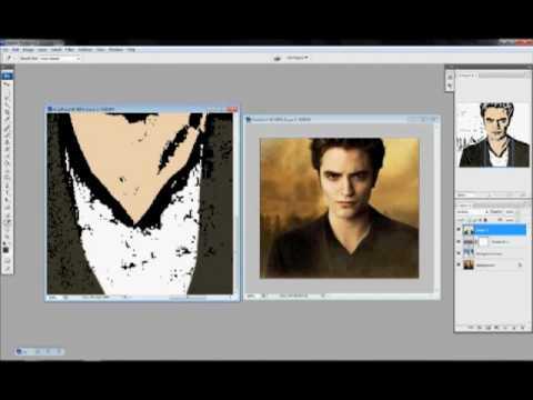 Making a Cartoon in Photoshop CS3