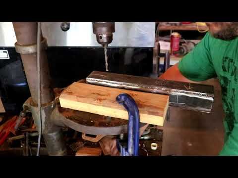 OLD MACHINIST TAUGHT ME THIS DRILL PRESS HACK! Works Amazingly well!!
