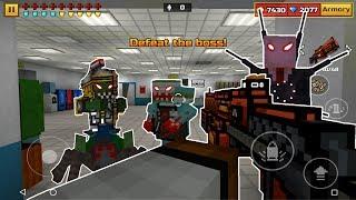 Killing Every Boss In Pixel Gun 3D