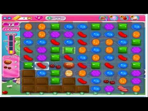 Trick On Candy Crush Saga - How To Get a Color Bomb (with commentary)