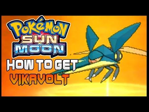 Pokemon Sun and Moon How to Evolve Charjabug to VikaVolt  ( How to get VikaVolt )