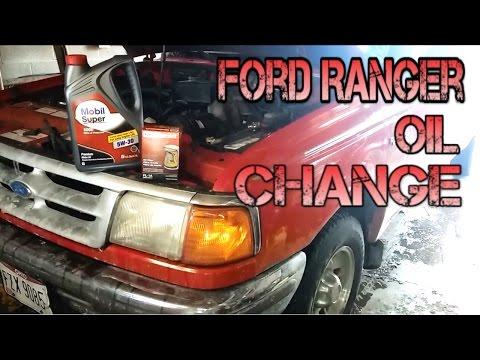 1993 - 1997 Ford Ranger Oil/Filter Change   DIY  