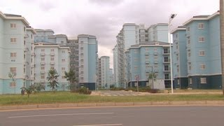 Chinese-built Angolan city feels like a ghost town