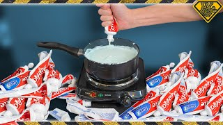 What Can You Do With 100 Tubes of Toothpaste?