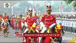 Kirab Bendera - Inilah Iringan Kirab HUT ke-74 RI Menuju Istana Merdeka