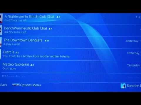 PS4 Messages Lag