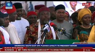 Igbos Will Support Buhari Come 2019-- Okorocha Pt.2|Imo APC Mega Rally|