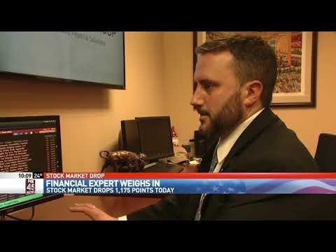 Local financial firm weighs in on Dow Jones drop