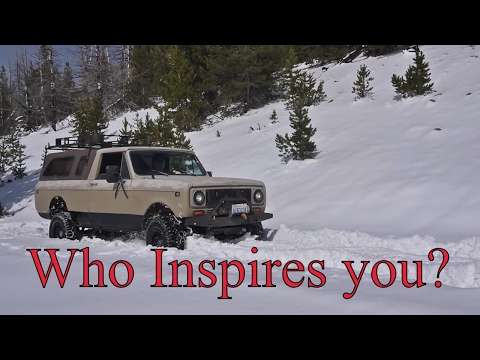 Who Insprires your ADV? Spring update