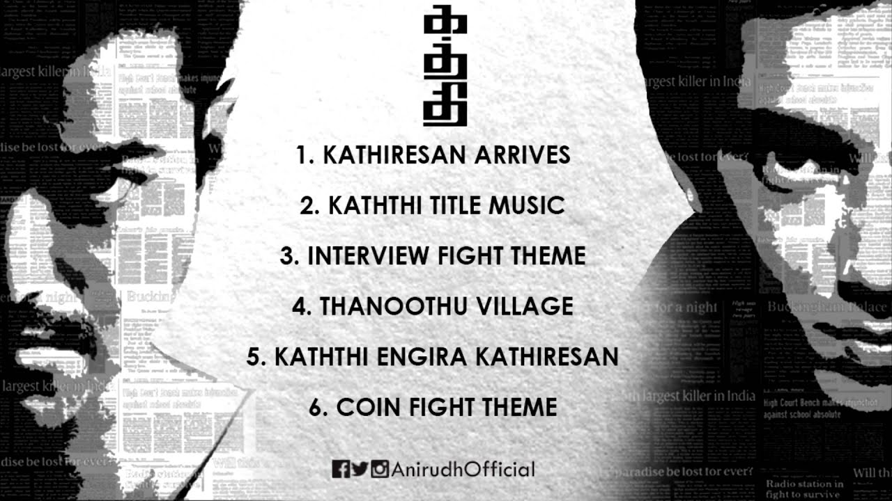 Download Kaththi | BGM Jukebox | 100 Days Celebration | Anirudh MP3 Gratis