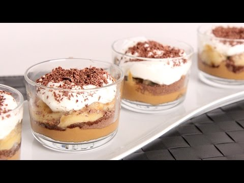 Banoffee Parfaits Recipe - Laura Vitale - Laura in the Kitchen Episode 988