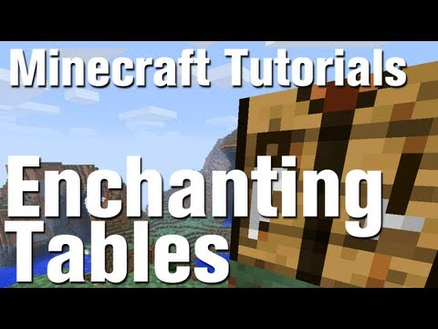 Minecraft Tutorial: How to Make an Enchantment Table