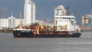 Ship video - The dredger