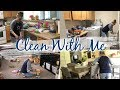 CLEAN WITH ME | SAHM CLEANING ROUTINE | CLEANING MOTIVATION