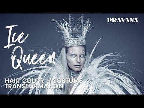 Ice Queen Hair Color + Costume Transformation | PRAVANA Halloween