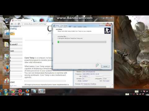How to check your cpu temperature [HD]