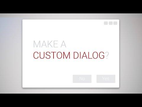 C# - How to make a Custom Dialog - tutorial