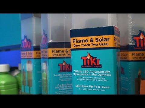 Las Vegas Hardware Show 2015: Solar Tiki Torches
