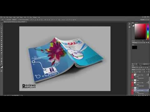 Exciting Free Magazine Mockup Download