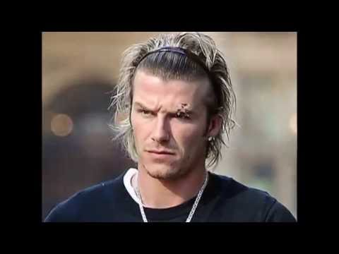 Top of David Beckham's Hairstyle