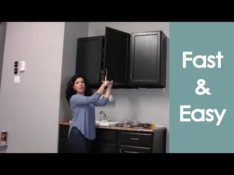 Install or Hang Wall Cabinets (how to) - Renee Romeo